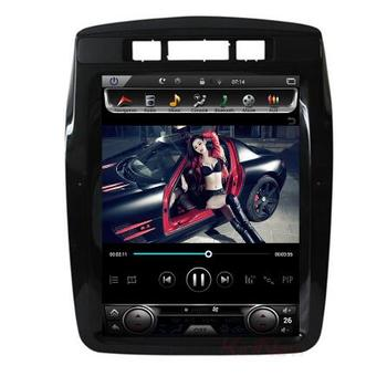 """10.4"""" tesla style vertical screen android 9.0 six core Car GPS radio Navigation for VW Volkswagen TOUAREG 2011-2017"""