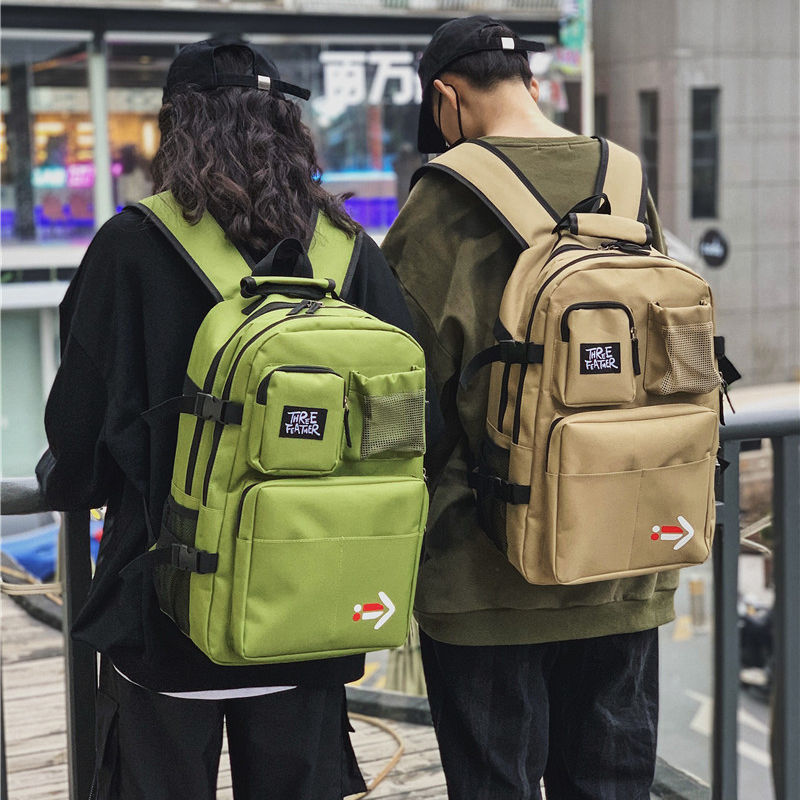 Boys School Bags For Teenagers Girls Student Backpack Men Women Bookbags Large Cool Personality High Bag For School Preppy Style