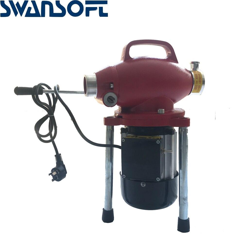 220 В профессиональный очиститель труб машина для очистки дренажных труб очиститель сточных вод Электрический Змеиный канализационный - 4