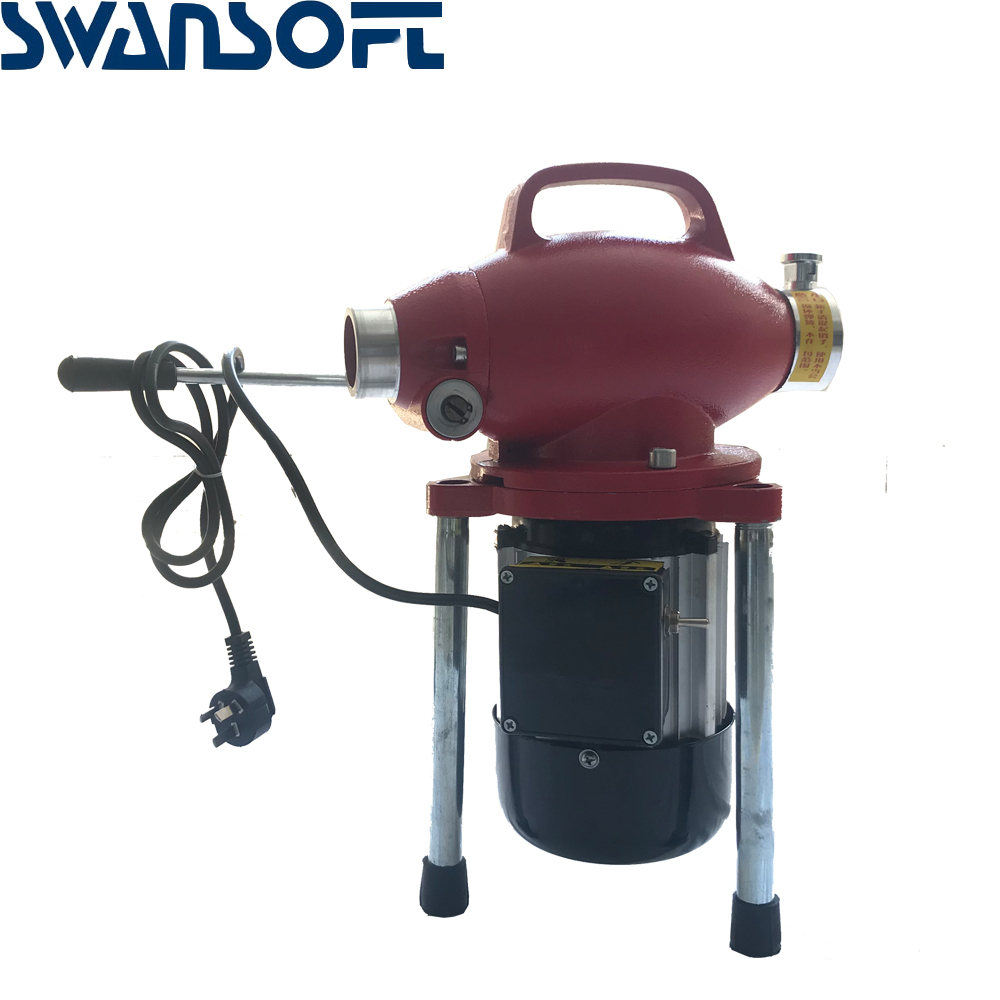 220V Professional Pipe Cleaner Drain Cleaning Machine Sewage Cleaner Electric Snake Sewer - 4