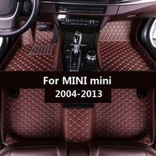 Esteiras do assoalho do carro para mini mini 2004-2007 2008 2009 2010 2011 2012 2013 Personalizado auto Almofadas do pé automóvel tampa do tapete