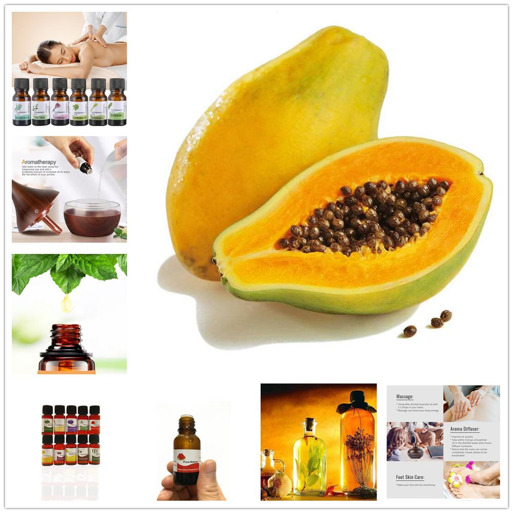 Pure Natural Fruits Aromatherapy Essential Oils Anti-stress Papaya Aroma Diffuser Oil High Effective Sterilization