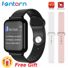 2019 hot Smart Watch Heart Rate Blood Pressure Bluetooth SmartWatch Fitness Bracelet 25 Days Standby For Apple Android Phone(China)