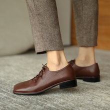Осенняя повседневная обувь osunlina в стиле ретро с квадратным