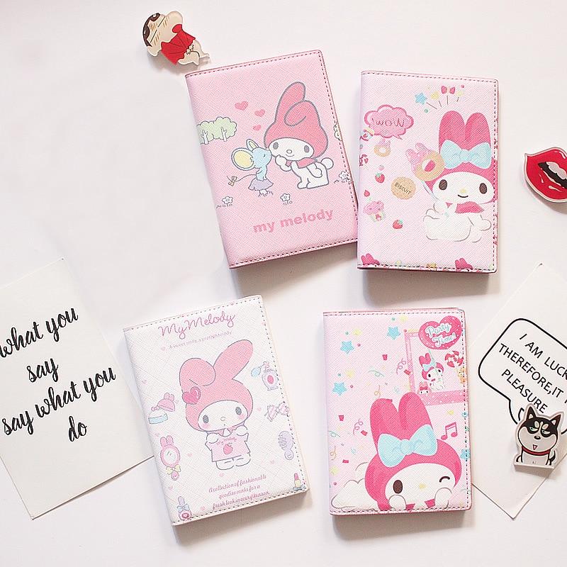 High Quality PU Leather Cartoon Rabbit Passport Holder WOMEN AND GIRLS LIKE Passport Cover Best Credit Card Case