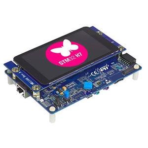 Image 2 - Pcs x STM32H747I DISCO 1 kit com STM32H747XI MCU Placa de Desenvolvimento BRAÇO Descoberta