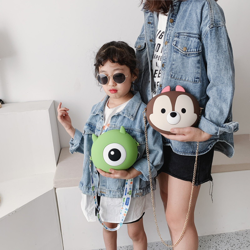 Crossbody Bags For Women Silicone Cartoon Bags Fashion Female Korean Shoulder Mobile Phone Bag Messenger Waterproof Beach Bag