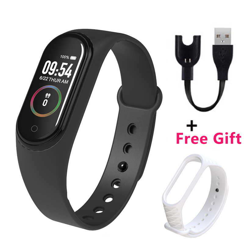 M4 Wristband Smartband Sport Bracelet Smartwatch Heart Rate Monitor Fitness Tracker Activity Blood Pressure Bluetooth