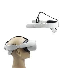 2021 nowa regulowana do rozmiaru głowy pasek VR kask pas pałąk VR Elite pasek dla Oculus Quest 2