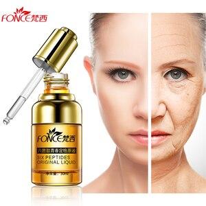 Image 1 - Koreanische Haut Care Pflanzen Argireline Anti Falten Gesichts Serum Sechs Peptide Anti Aging Lifting straffende Gesicht ätherische öle 30ml
