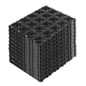 GTF Batteries Spacer-Brackets Plastic 18650 Black Cell 20/30/40/50pcs Radiating 4x5