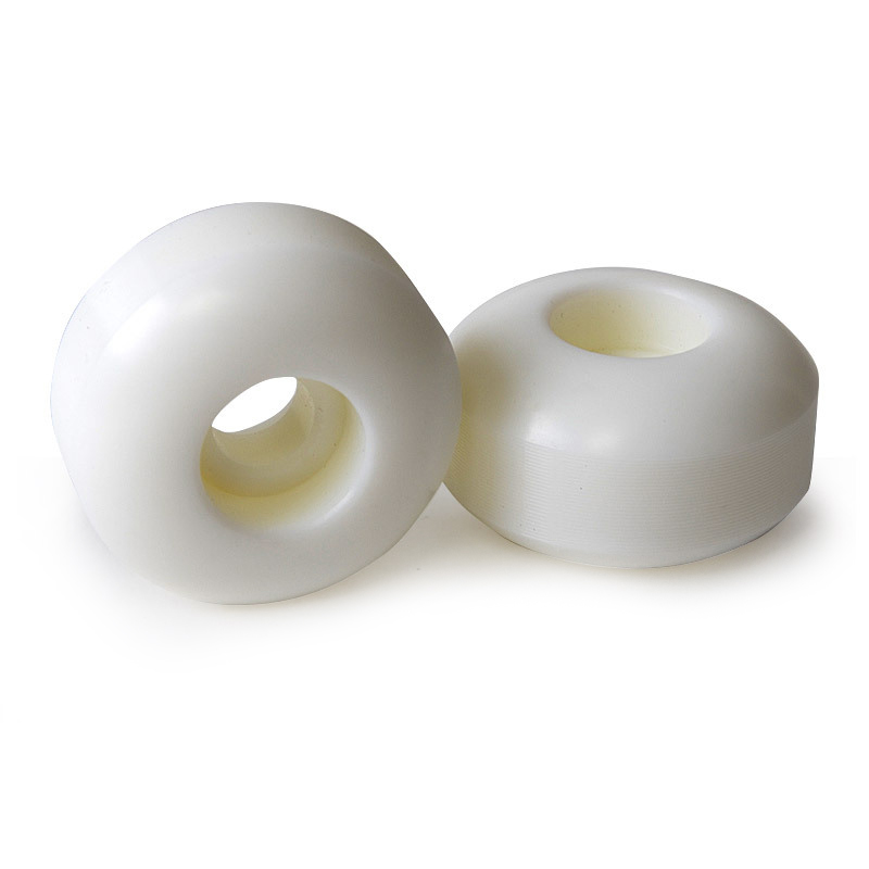 White Wheels Roller 54mm Skateboard Riding Replacement 100A Sports Accessories