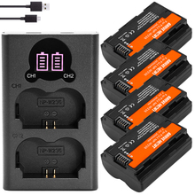 4Pcs Bateria NP W235แบตเตอรี่ + Dual USB Charger Type C พอร์ตสำหรับ Fujifilm Fuji X T4, XT4กล้อง