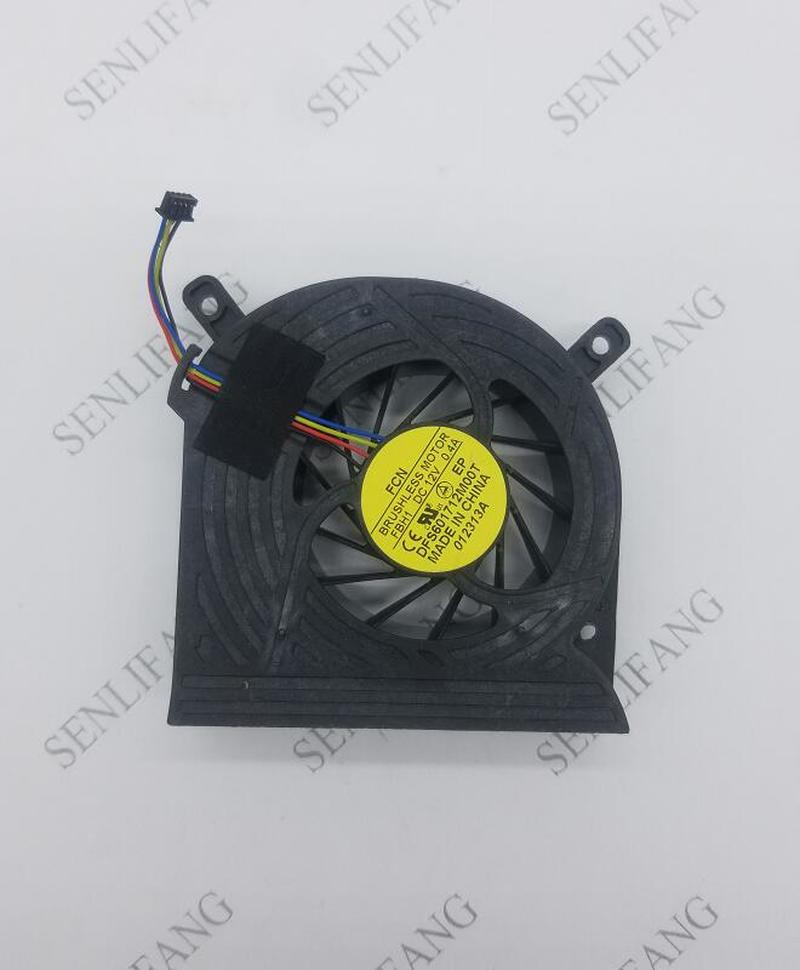 For FCN DFS601712M00T FBH1 DC 12V 0.40A 4-wire Server Cooler Fan