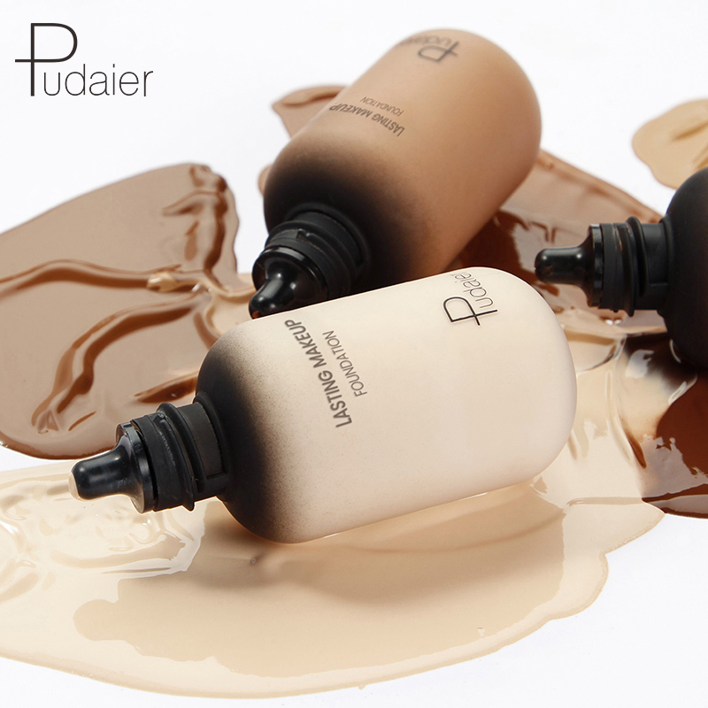 Professional 40ML Face Foundation Cream Concealer Full Coverage Matte Base Makeup Skin Tone Corrector For Dark Skin Black People image