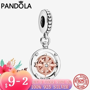 2020 satış 925 ayar gümüş köpüklü kulübü 2020 pusula Dangle göz alıcı boncuk Fit orijinal Pandora bilezik gümüş takı hediye