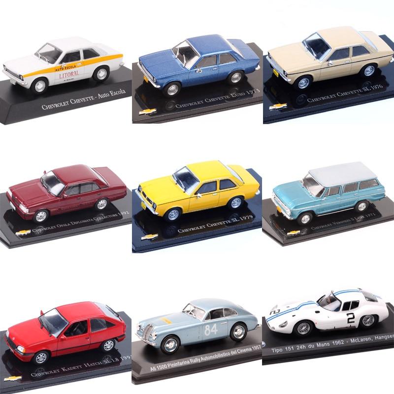 Escala 143 mini chevrolet chevette sl chevy auto escala luxo kadett hatch opala diplomata s luxe diecast modelo de carro brinquedo
