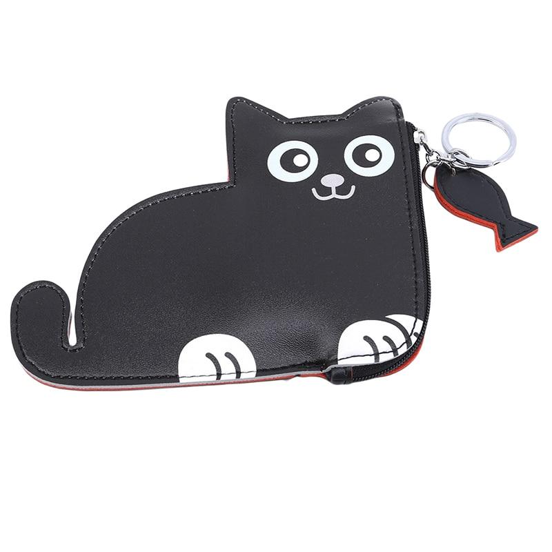 2019Coin Handbags Women Wallets and Purse Smal cat kids Kids Girls Card Holder Cute Kawaii Women Coin Purse Women's Bag Dog Coin