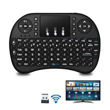 i8 Air Mouse 2.4GHz Mini Keyboard Wireless Touchpad No Backlit Remote Control For X96 mini H96max Android TV BOX PC Gamepad