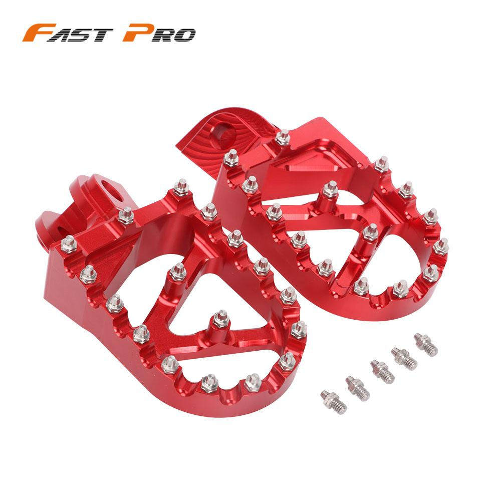 Motorcycle CNC 2T 4T Footpegs Foot Pegs Rests Pedals For <font><b>Beta</b></font> 200RR <font><b>300RR</b></font> 350RR 390RR 400RR 430RR 450RR 480RR 498RR 520RR image