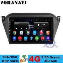 ZOHANAVI Radio con GPS para coche, radio con reproductor DVD, Android, 4G + 64G, para JAC S2 t40 2018