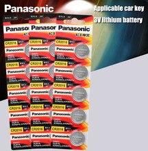 Panasonic Bateria De Lítio De Qualidade Superior 15 PÇS/LOTE 3V Botão Bateria de Relógio cr2016 Coin Baterias cr 2016 DL2016 ECR2016