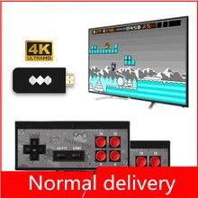 Y2HD gier USB DraadloosHandheld konsola do gier Tv wideo 8 Bit Mini konsola do gier wideo 600 klasyczna gra podwaja się konsola do gier