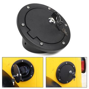 Areyourshop крышка топливного бака с защитным замком и 2 клавишами для Wrangler TJ 1997 2006 автомобильный топливный наполнитель дверная крышка бензобака