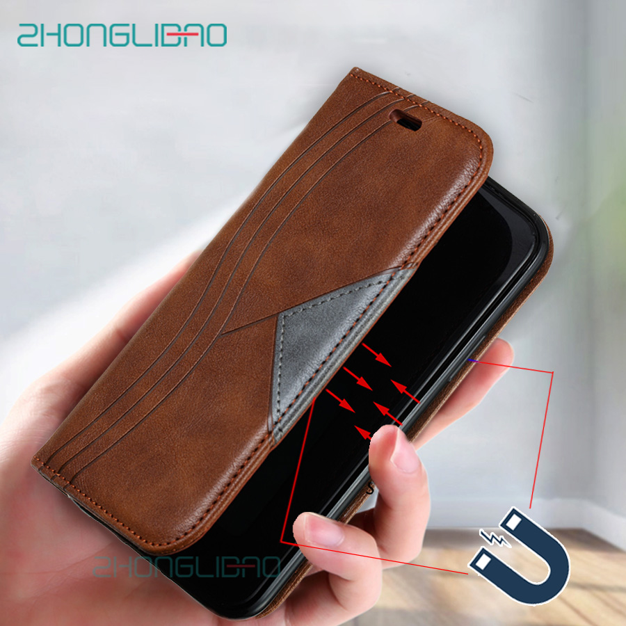 Flip Leather Magnetic Book Cover Case for Xiaomi Mi A3 9 Pro Cc9e Note 10 Xioami Redmi K20 6 6a 7a 8a Note 8 7 Pro 8T Wallet image