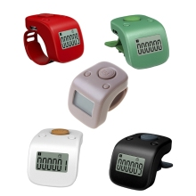 Mini Rechargeable Digital LCD Electronic Finger Ring Hand Tally Counter Six/6 Digit Buddha beads/Prayer Counter Clicker