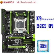 HUANANZHI X79 motherboard with Xeon E5 2620 cpu memory X79 motherboard set