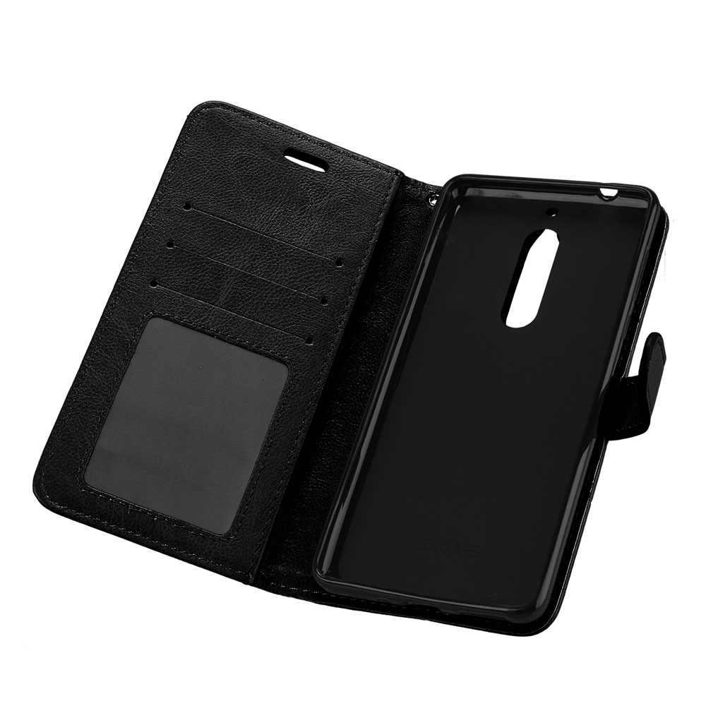 أغلفة جلدية Pu لهاتف نوكيا 5 أغلفة لهاتف نوكيا 5 8 5.1 Nokia5 Nokia5.1 Nokia8 Sirocco أغلفة خلفية مزدوجة للهاتف