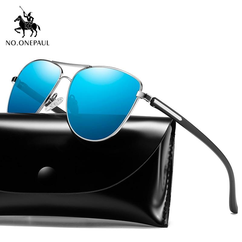 NO.ONEPAUL Coating Lens Driving Eyewear For Men/Wome Men Vintage Aluminum Polarized Sunglasses Classic Brand Sun Glasses