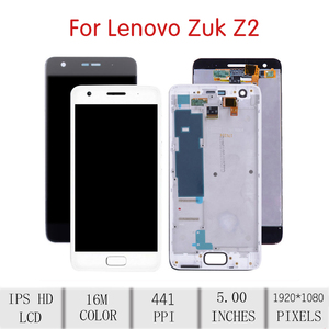 """Image 2 - 5.0""""Screen For LENOVO ZUK Z2 LCD Touch Screen Digitizer Assembly For Lenovo ZUK Z2 Display with Frame Replacement Z2 Plus Z2131"""