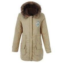 2019 New Winter Women Cotton Jacket Fluffy Parkas Coat Thicken Warm Womens Outwear Parkas Warm Thick Cotton Jacket Parkas цены онлайн