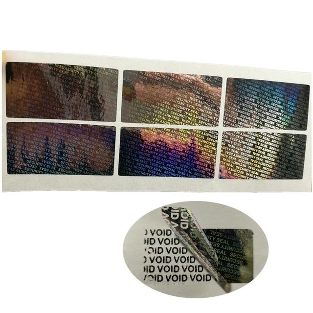 "1500 Beveiliging Seal Hologram Sabotage Proof Garantie Vervalt Label Sticker 1.57*0.79"""