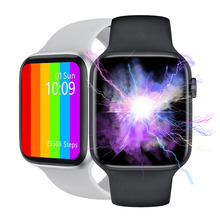 LEMFO W46 inteligentny zegarek 1.75 Cal duży ekran ładowania bezprzewodowego ekg PPG niestandardowe tapety Smartwatch IP68 wodoodporna lepiej niż W26