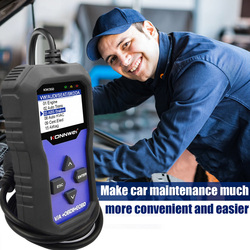 Skaner OBD2 KONNWEI KW350 V007 dla volkswagena dla Audi samochodów tester diagnostyczny skaner skaner diagnostyka samochodów narzędzia motoryzacyjne
