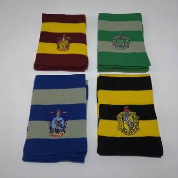 4 sztuk Potter Tie Hat College sStyle przebranie na karnawał Harris szalik świąteczne zaopatrzenie na przyjęcie halloweenowe okulary Cloak magic Wand tanie i dobre opinie CN (pochodzenie) Unisex Dla osób dorosłych HARRY POTTER