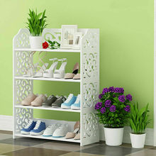 4Tier Shoe Rack Shelf Storage Stand Organizer Cabinet Closet Bookshelf Furniture