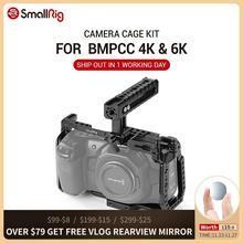 SmallRig BMPCC 4 K Lồng Bộ Blackmagic Túi Thiết Kế Điện Ảnh Camera 4 K BMPCC 4 K / BMPCC 6K Đi Kèm Với Nato Tay Cầm SSD Gắn
