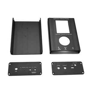 Image 2 - لوسيا PortaPack غلاف من الألومنيوم ل هاكرف واحد 1MHz 6GHz SDR استقبال ونقل AM FM SSB هام راديو C2 002