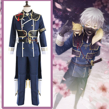 Hot Game Touken Ranbu Online Cosplay Costumes Nakigitsune Costume Uniforms Halloween Party Anime Hanamaru