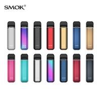 Original humo Novo 3 Kit de batería de 800mAh 25W Vape 1,7 ml Vape Mod de malla de 0.8ohm cartucho de cigarrillo electrónico vaporizador NOVO 2