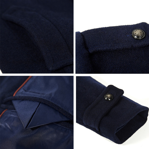 Mens Coat Winter Wool Mens Jackets and Coats Famous Brand Casual Parka Flannel Fashion Woollen British Business Longer Cashmere Multan