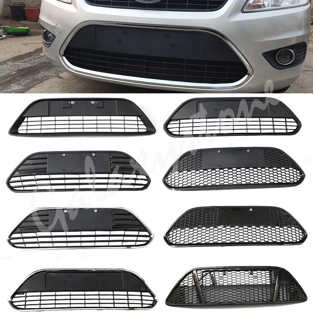 Front Bumper Honeycomb Lower Grille For Ford Focus Hatchback Sedan 2009 2010 2011 2012 2013 2014 2015