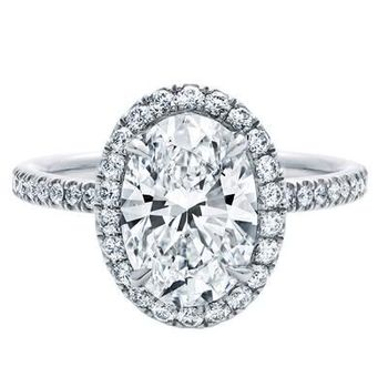 TR520 2 Carat  Oval ring Lovely Synthetic  Gem Engagement Ring  Rings for women