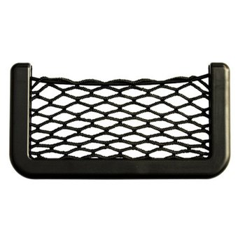 Car Storage Net Pocket Car Creative Net Pocket Car Supplies Car Mesh Mobile Phone Debris Storage Bag image