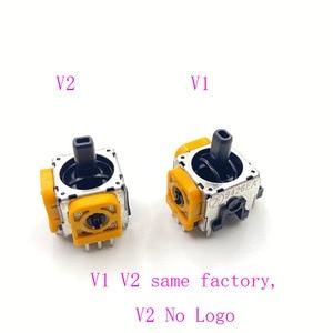Image 3 - 10 pièces jaune Original 3D Joystick axe Modulo Sensore Analogico pour Playstation 4 PS4 manette