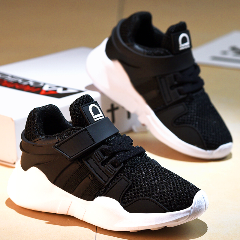 2020 New Spring Fashion Children Casual Shoes Baby Boys Girls Kids Running Shoes Kids Brand Sport Shoes  Running Shoes  Rubber